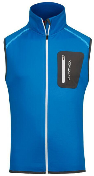 Ortovox M's Fleece Vest blue ocean